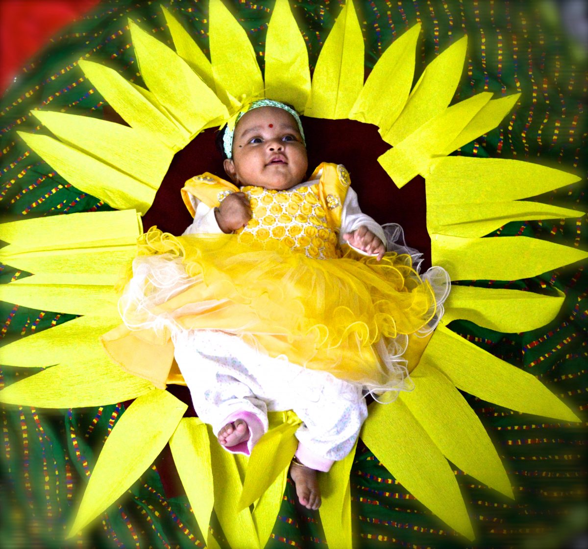 Kids Photoshoot Props 2 : Sunflower
