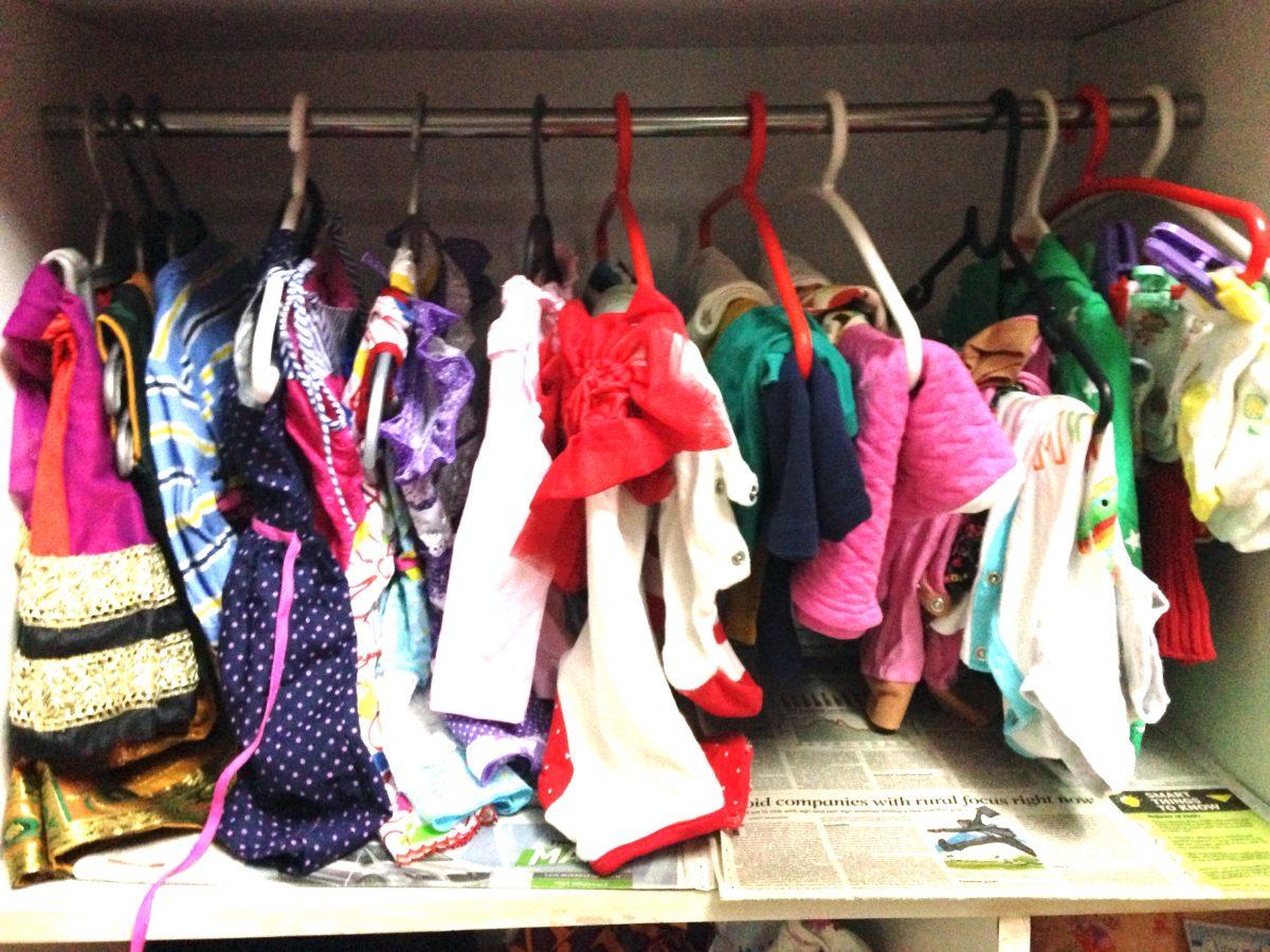 Simple seven tips : Organising baby's wardrobe