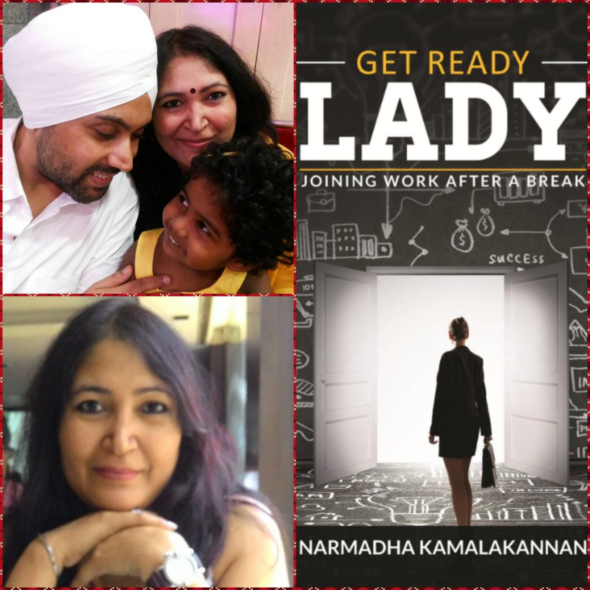 GET READY LADY Interview Series : Gurpreet talks about his Caring Wife Rajeshwari Sharma, freelance Journalist