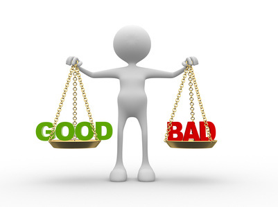 Between Good & Bad – whats your choice