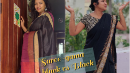 Saree-gama Fabric vs Feel