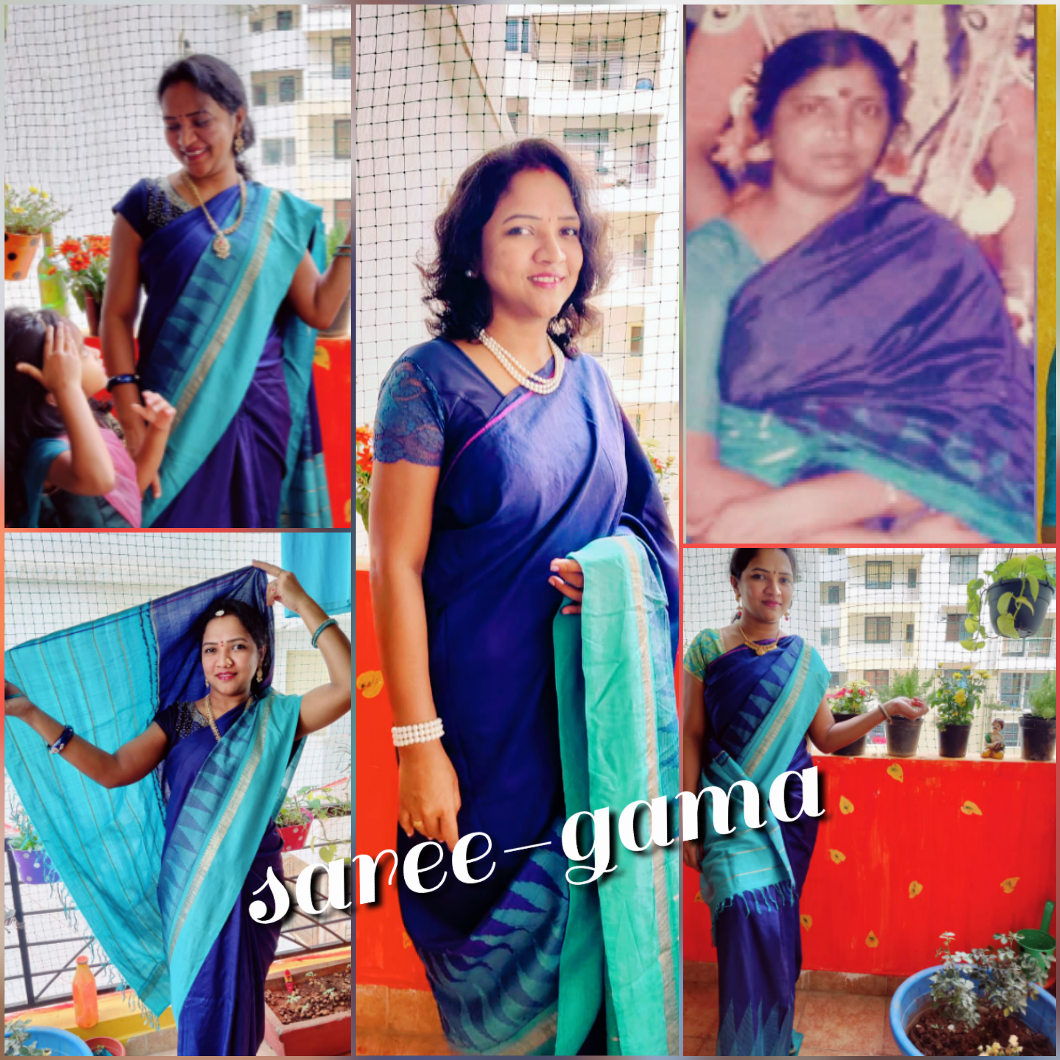 Saree-gama grandmother's saree