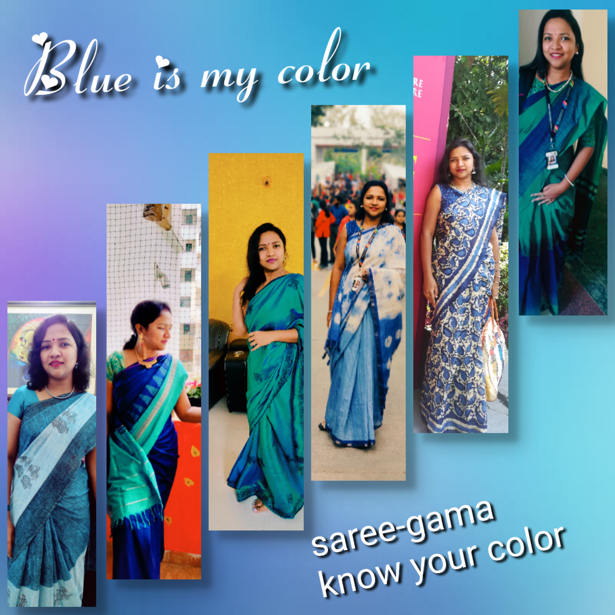 Saree-gama Know Your Colour