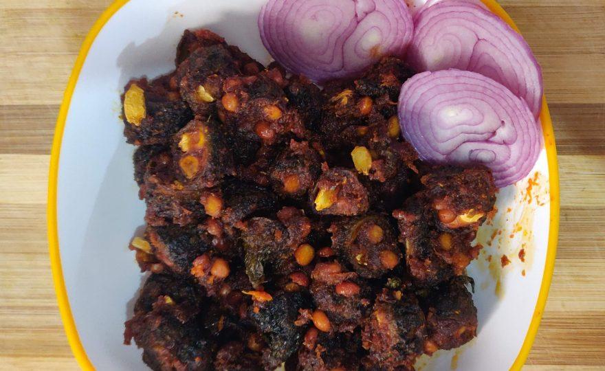 The grumpy karela's yummy recipe