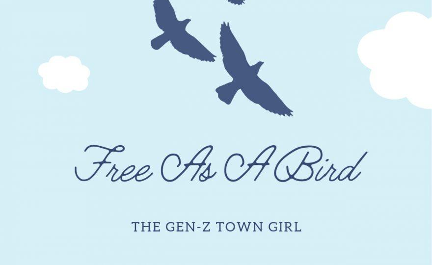 THE GEN-Z TOWN GIRL-FREE AS A BIRD