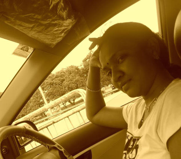 The pregnant me & my car !