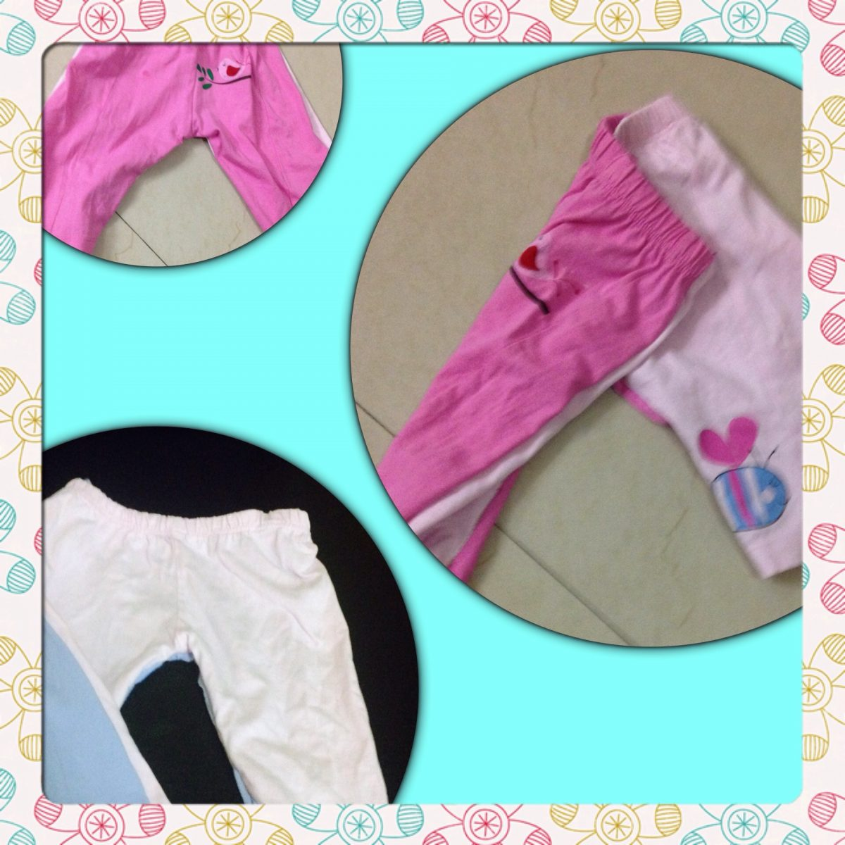 Sewing fun : pant from pants for kids