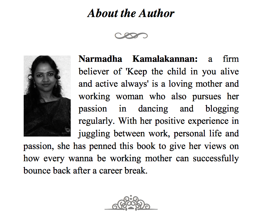"""""""A handy guide for anyone rejoining work"""" says Mr Raghavaiah in his book review : GET READY LADY"""