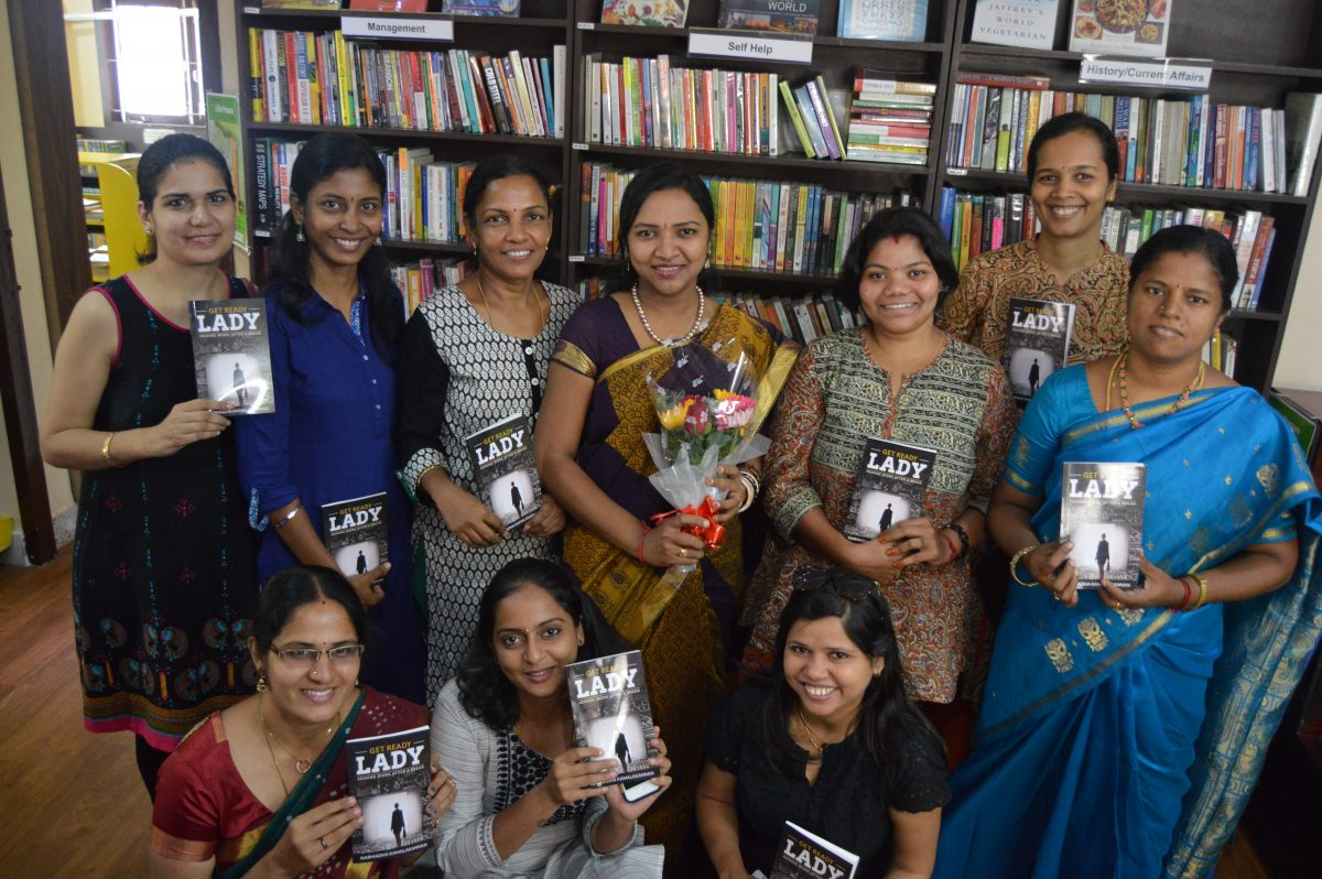 This book substitutes a personal counsellor – says Soundarya Arvind in her Book Review : GET READY LADY