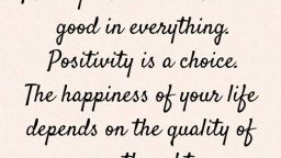 Where is your share of positivity?