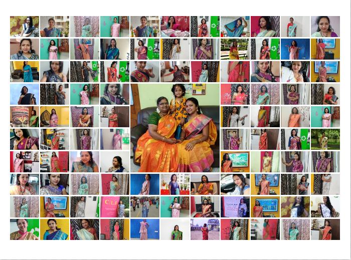 100 looks of Sareegama