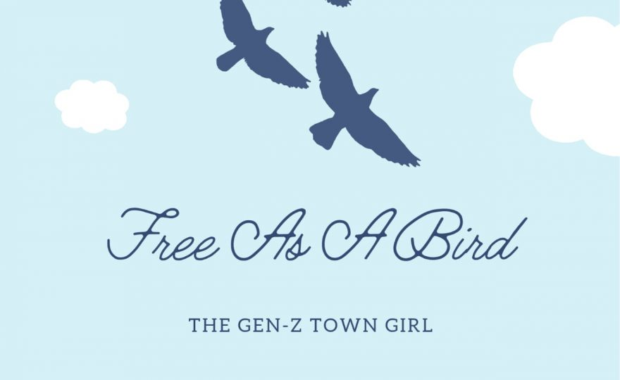 THE GEN-Z TOWN GIRL-FREE AS A BIRD